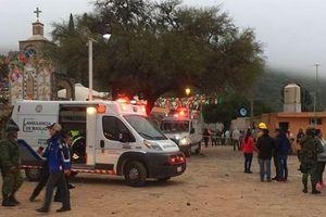Nổ pháo hoa kinh hoàng ở Mexico, ít nhất 60 người thương vong