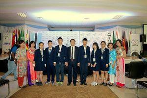 Đoàn Việt Nam giành 4 huy chương Vàng kỳ thi Khoa học trẻ quốc tế