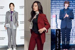Muốn diện suit đẹp phải học mỹ nhân Hàn, cứ gọi là bao đẹp!