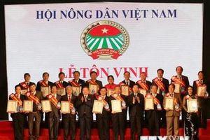 Đại hội 7 Hội Nông dân Việt Nam: Tôn vinh 53 nhà khoa học của nhà nông