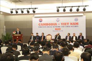 Campuchia và Việt Nam tăng cường hợp tác an toàn thông tin và mạng xã hội