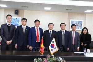Việt Nam - Hàn Quốc trao đổi kinh nghiệm phát triển truyền thông và giáo dục dạy nghề