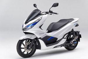 Cận cảnh xe ga điện Honda PCX giá 144,5 triệu đồng tại Nhật Bản