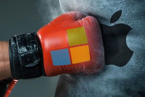 Microsoft chế giễu Apple: 'Những giấc mơ lớn cần một máy tính thực sự'