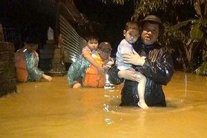 Mưa lũ ở miền Trung gây thiệt hại nặng nề về người và tài sản