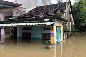 Quảng Nam: Nước lũ sẽ tiếp tục lên cao khi hồ Phú Ninh xả lũ