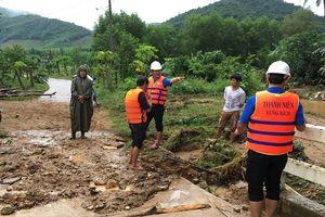 Các tỉnh miền Trung khẩn trương khắc phục hậu quả mưa lũ