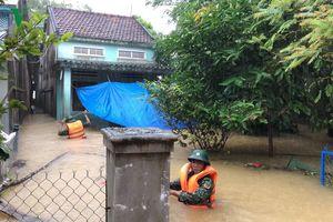 Quảng Nam: Xả lũ hồ Phú Ninh, đề phòng ngập nước trong đêm