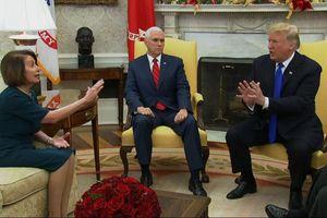 Tổng thống Trump tranh luận gay gắt với lãnh đạo đảng Dân chủ tại phòng Bầu dục