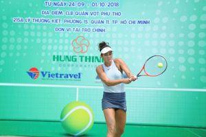 Alize Lim đấu giải các cây vợt xuất sắc Việt Nam 2018