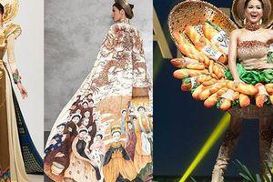 'Đọ' trang phục dân tộc của H'Hen Niê với các người đẹp Việt tại đấu trường nhan sắc 2018