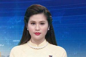 MC Minh Trang: Tự hào khi được đứng trên sân khấu dẫn cho chương trình Vang mãi giai điệu Tổ Quốc