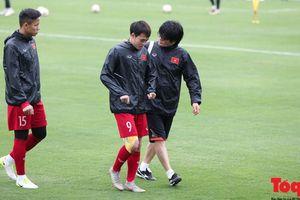 Ngọc Hải, Văn Toàn tập riêng với 'bộ não của HLV Park Hang - seo' trước trận chung kết lượt về AFF Cup 2018