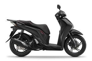 Honda SH có thêm phiên bản đen mờ, tăng giá lên 83,5 triệu
