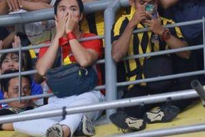 AFF Cup: Tâm sự bất ngờ của 'CĐV dũng cảm nhất Việt Nam' tại Bukit Jalil