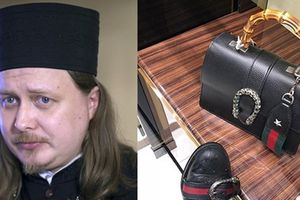 Linh mục Nga gây choáng khi xài toàn Gucci, Louis Vuitton