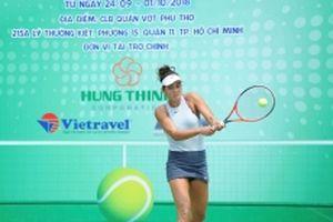 Khởi tranh Giải quần vợt các cây vợt xuất sắc Việt Nam