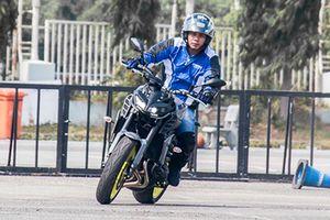 Cận cảnh Yamaha MT-09 chính hãng giá 299 triệu