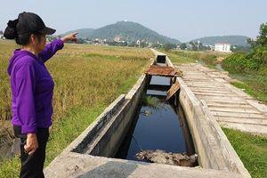 Làng nghề Tràng Minh (Kiến An, Hải Phòng): Hệ thống xử lý nước thải chưa vận hành đã xuống cấp