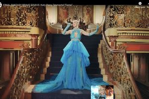 Ngôi sao Katy Perry chọn trang phục của Công Trí cho buổi ra mắt game