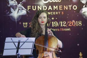 Tôn vinh nhạc dân gian Việt Nam trong đêm Cello Fundamento