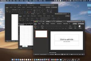 Microsoft đưa giao diện tối đến Office trên Mac