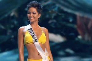H'Hen Niê diện bikini quyến rũ, khoe vòng ba 97cm tại bán kết 'Miss Universe 2018'