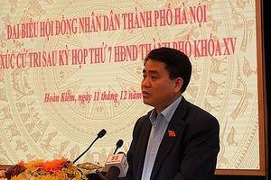 Chủ tịch UBND TP Hà Nội giải đáp nhiều băn khoăn của cử tri
