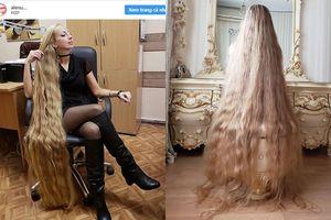 Kỷ lục 28 năm không cắt tóc, cô gái hóa 'công chúa tóc mây' giữa đời thực