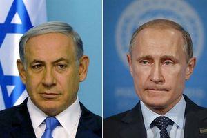 Thủ tướng Israel quyết 'chơi bài ngửa' với Tổng thống Putin tại Syria