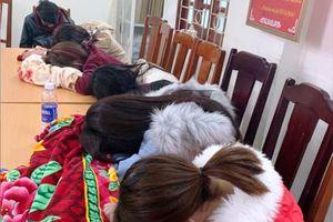 Phá 'động' mại dâm 'gái trẻ, giá rẻ' ở huyện Nga Sơn