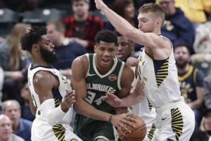 Hàng thủ Pacers 'làm thịt' Giannis, Bucks nhận thất bại ê chề trên sân khách