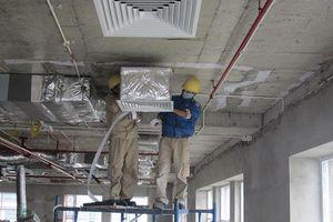 Điện lạnh Tân Thanh trúng gói thầu lắp đặt điều hòa của HANDICO