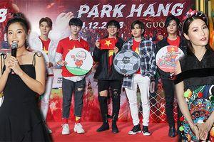 Hoàng Yến Chibi, Diễm My 9x và nhóm Uni5 dự họp báo phim tài liệu về HLV Park Hang Seo, ủng hộ Việt Nam vô địch AFF Cup 2018