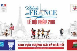 Lễ hội văn hóa Pháp tương thích cùng dự án 'Đại sứ quán xanh'