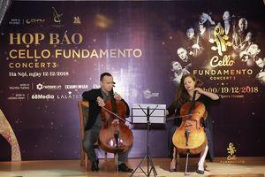 Cello Fundamento Concert3 trở lại Việt Nam