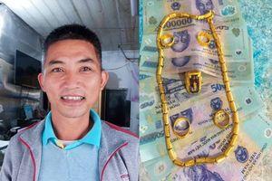 Thầy giáo nhặt được túi đầy tiền và vàng tìm người trả lại