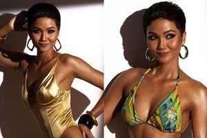 H'Hen Niê khoe dáng nóng bỏng với bikini trước thềm bán kết 'Hoa hậu Hoàn vũ 2018'