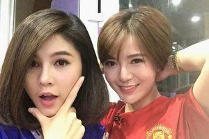 Hot girl truyền hình xinh đẹp luôn theo sát đội tuyển Việt Nam