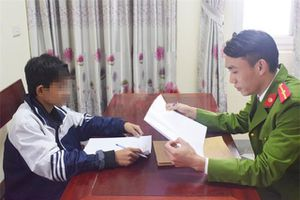 'Siêu trộm nhí' thực hiện trót lọt 16 vụ trong 3 tháng ở Hà Tĩnh