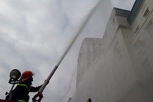 Diễn tập phòng cháy, chữa cháy, tìm kiếm cứu nạn tại tòa nhà The Garden