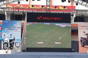 Quảng Bình: Tổ chức 3 điểm xem bóng đá màn hình lớn trận chung kết Việt Nam - Malaysia