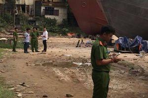 Vụ nổ khiến 3 người thương vong ở xưởng đóng tàu có thể do hàn xì
