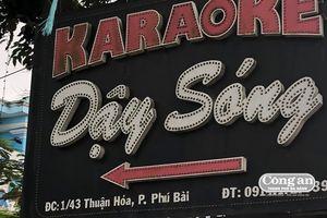 Triệt phá 2 điểm bán thuốc lắc ở karaoke 'Dậy sóng'