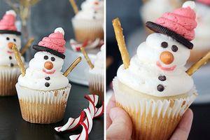 Những món bánh cupcake Noel độc đáo nhất mùa Giáng sinh năm nay