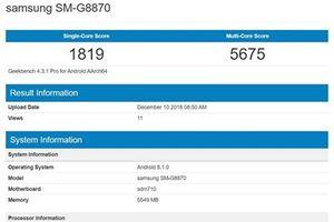 Galaxy A8s và Galaxy S8 có điểm hiệu năng tương đương nhau