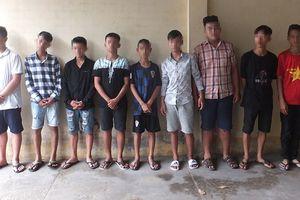 Tiền Giang: Bắt băng cướp 'nhí' dùng dao tấn công học sinh