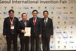 Công trình BSR đạt huy chương Đồng quốc tế về Khoa học và Công nghệ 2018 (SIIF 2018)