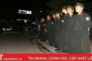 Gần 600 chiến sỹ Công an Hà Tĩnh bảo đảm ANTT trận chung kết lượt về AFF Cup 2018