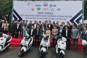 Thị trường xe máy điện tại Việt Nam khá tiềm năng